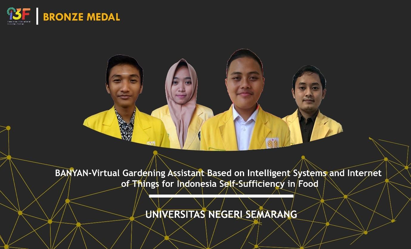 Mahasiswa UNNES Raih Penghargaan di Tingkat Internasional I3F