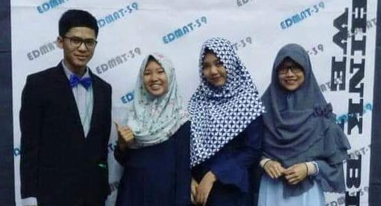 Mahasiswa Jurusan Kimia FMIPA Berprestasi Tingkat Internasional