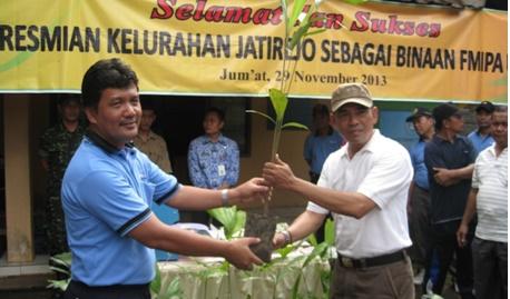 FMIPA Jadikan Jatirejo sebagai Desa Binaan