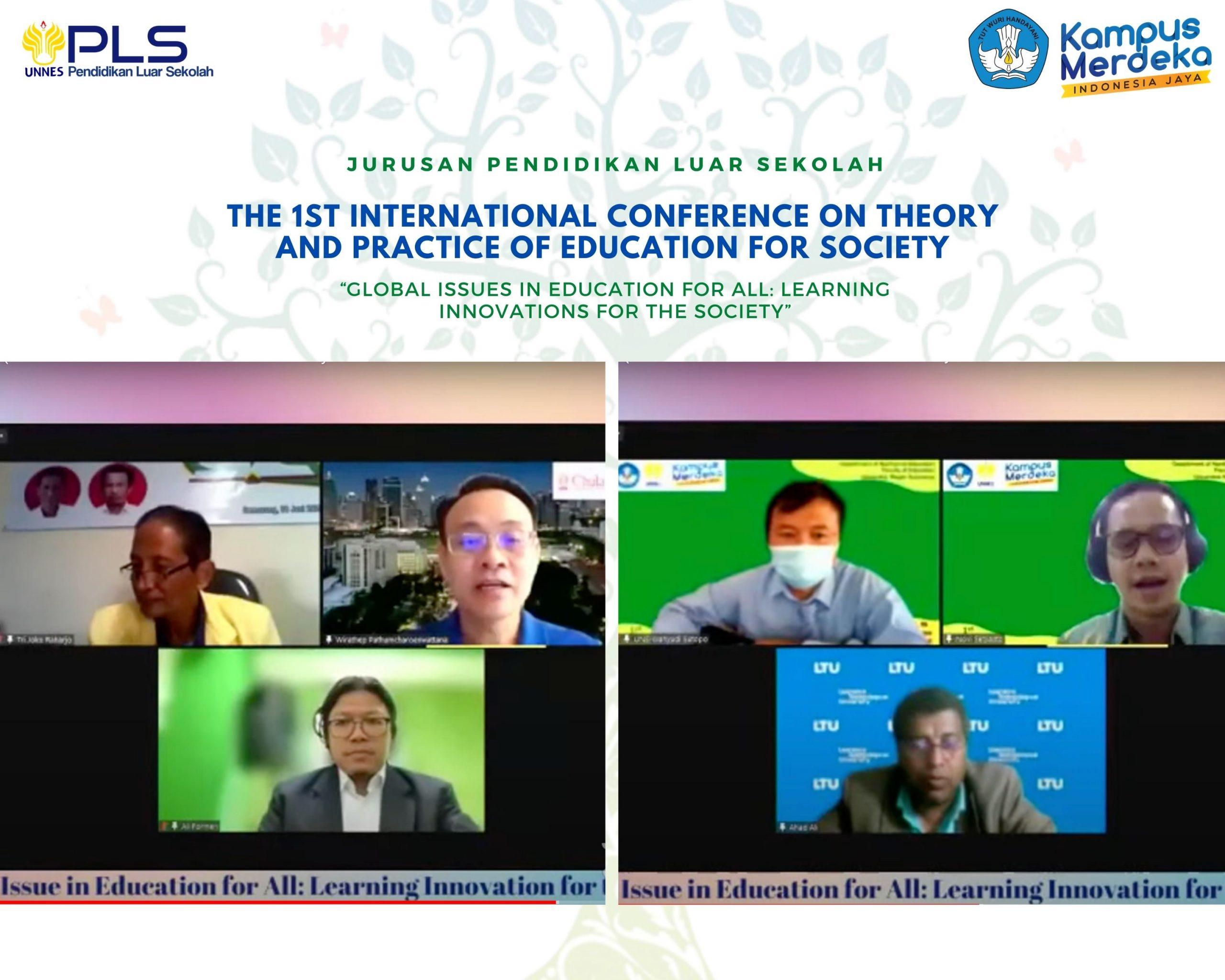 Jurusan PLS FIP UNNES Adakan Seminar Internasional dengan 3 Benua