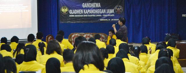 Gladhen Kapandhegan di Jurusan Jawa