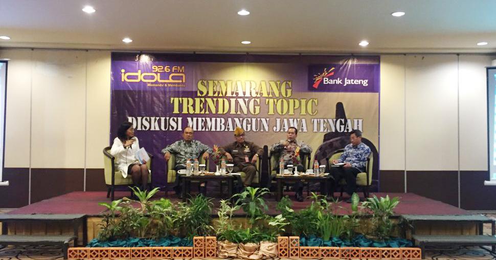 Rektor UNNES Pembicara Diskusi Membangun Jawa Tengah Radio Idola