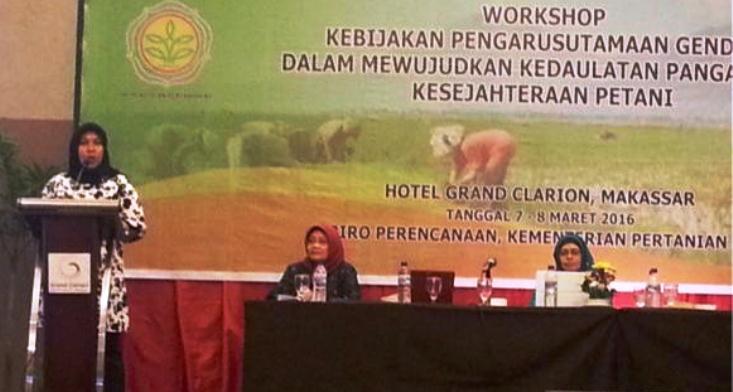 Kepala PSGA Unnes ; Kesetaraan Gender di Bidang Pertanian Masih Harusarus Diperjuangkan
