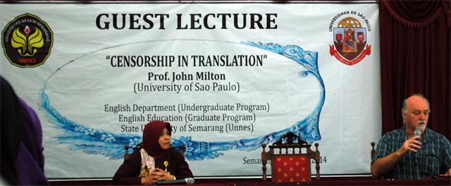 Guest Lecture Bersama Prof John Milton