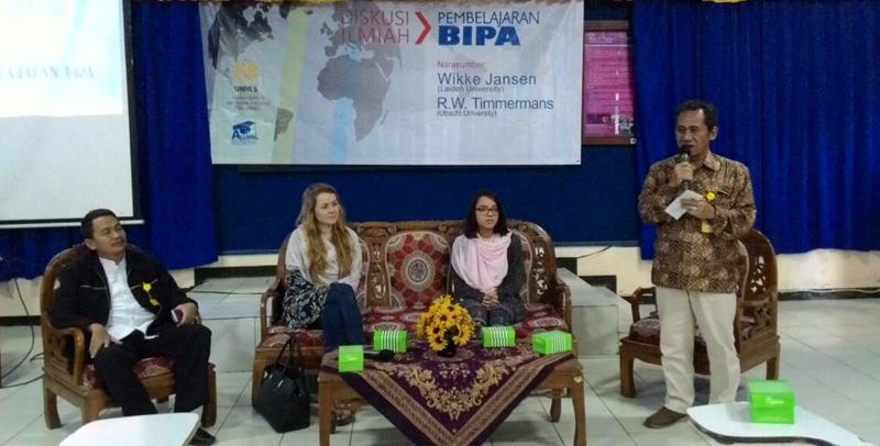 Jurusan Bahasa dan Sastra Indonesia Kerja Sama dengan Dua Perguruan Tinggi Belanda