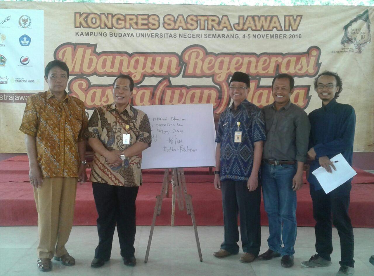 Dibuka Hari Ini, UNNES Jadi Tuan Rumah Kongres Sastra Jawa