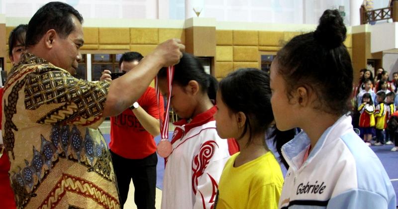 Buka Kejuaraan Wushu, Rektor Unnes Ajak Mahasiswa Berprestasi dan Berkarakter