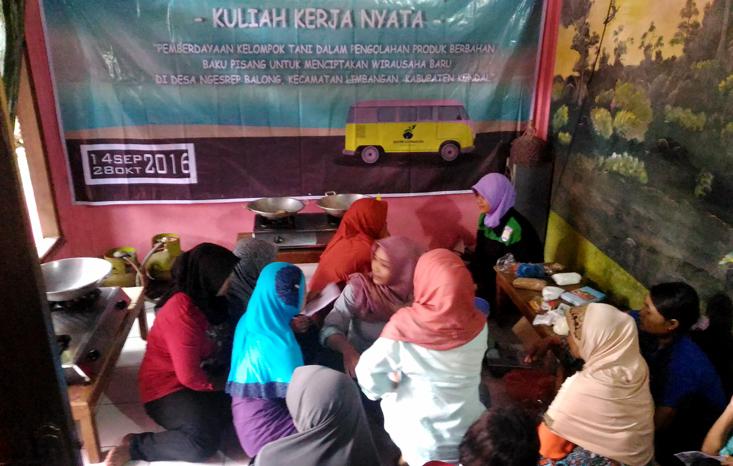 Mahasiswa KKN-PPM Unnes Bersinergi dengan Kelompok Wanita Tani Gedongan Kendal