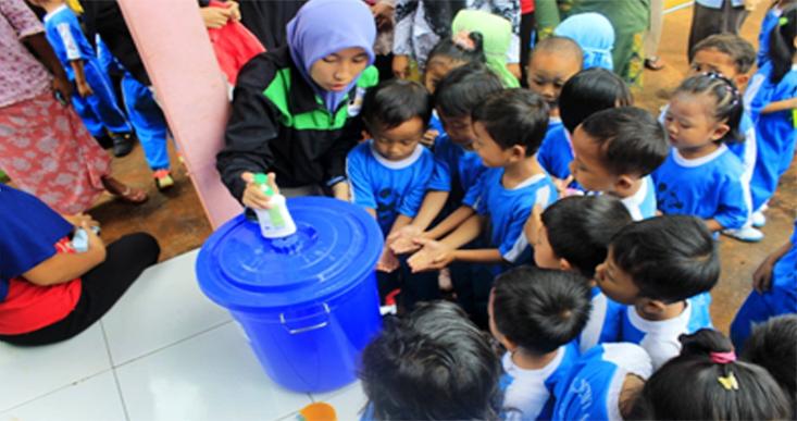 Mahasiswa KKN UNNES Ajarkan Perilaku Hidup Bersih dan Sehat
