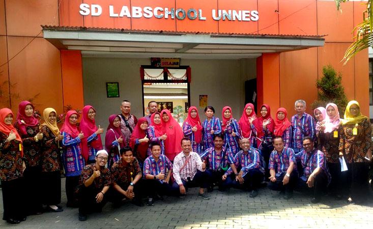 SD Patra Dharma Balikpapan Studi Banding ke SD Labschool UNNES
