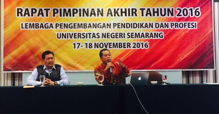 Rektor Dorong LP3 Jadi Rujukan LPTK Berwawasan Konservasi
