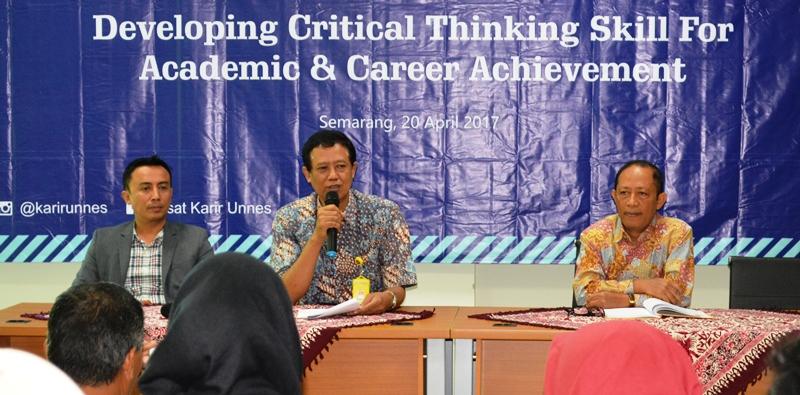 Kembangkan Critical Thinking Skill, LP3 UNNES Hadirkan Jaringan Pusat Karir Nasional