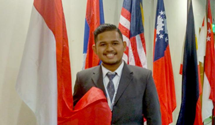 Oki Sadma Mahasiswa UNNES Jadi Delegasi Indonesia dalam Asean Youth Summit 2017 di Manila, Philipines