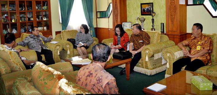 Perkuat Institusi, Universitas Negeri Manado Kunjungi Unnes