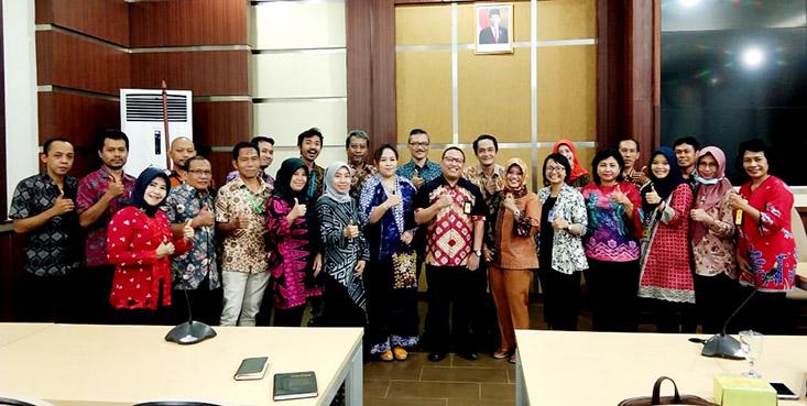 Tim BAKK UNNES Studi Kerja ke BAA dan BAK Undip