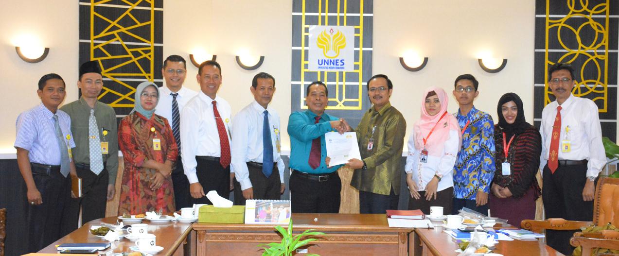 Ombudsman Jateng Apresiasi Positif Tata Kelola UNNES