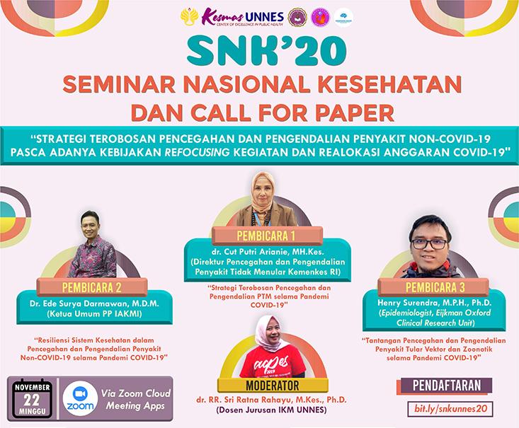 HIMA IKM Menyelenggarakan Seminar Nasional Kesehatan
