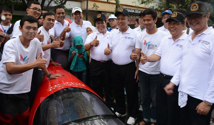 Tim Mobil Listrik Pandawa Kembali Berlaga Di SEM Asia