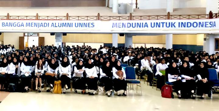 3.513 Mahasiswa UNNES Ikuti Pembekalan PPL