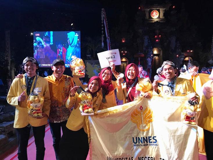 UNNES Raih 1 Emas dan 2 Perak dalam PIMNAS ke-32 Bali