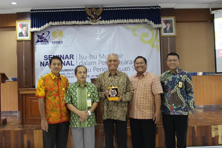 Program Studi Pendidikan IPS UNNES Selenggarakan Seminar Nasional Kependidikan