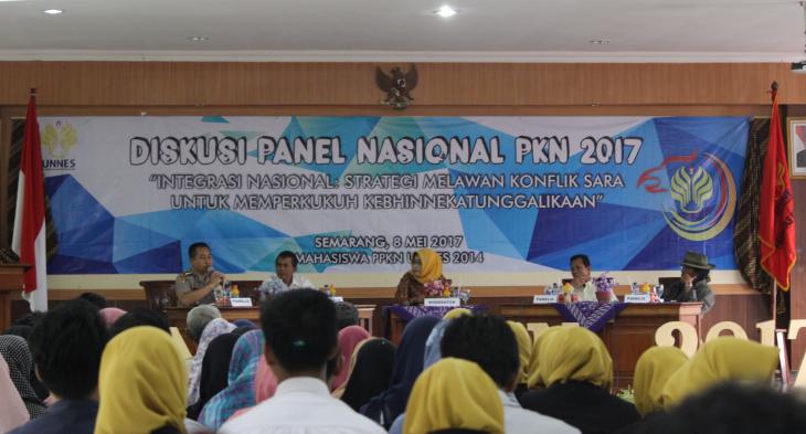 Diskusi Nasional PKN UNNES, Rektor:  Kegiatan Berbeda