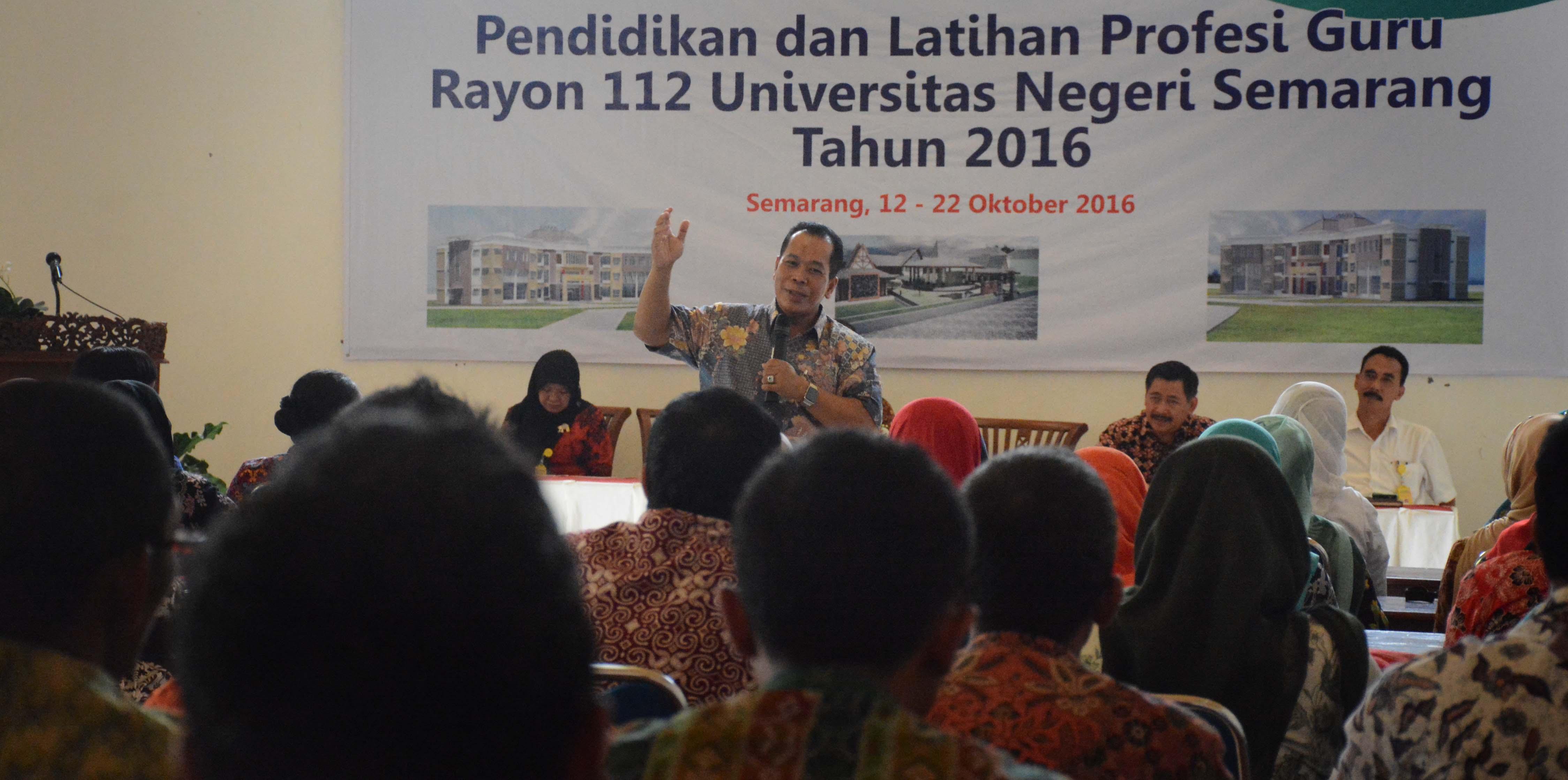Pembukaan PLPG, Etika Guru Kunci Sukses Pendidikan