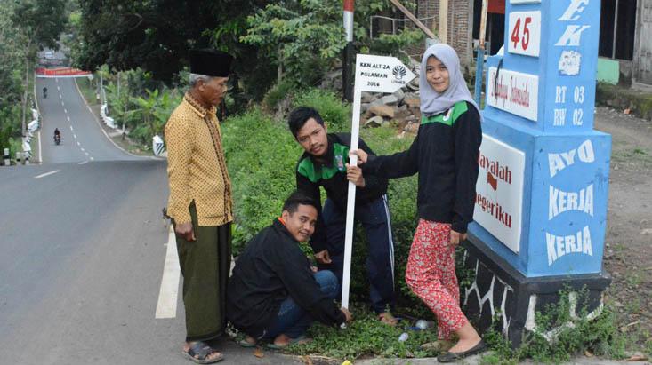 KKN UNNES di Polaman, Mahasiswa Mulai Berkiprah