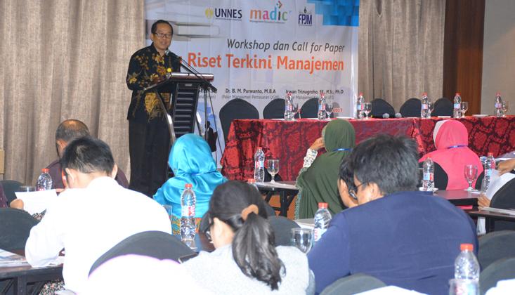 PPJM dan Jurusan Management UNNES Dorong Jurnal Bereputasi Internasional