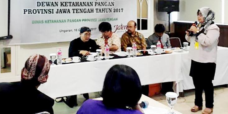 Ketua Pengembang Bisnis UNNES Sumbang Pemikiran pada Rancangan Awal Rencana Strategis Dinas Ketahanan Pangan Provinsi Jateng Tahun 2018-2023