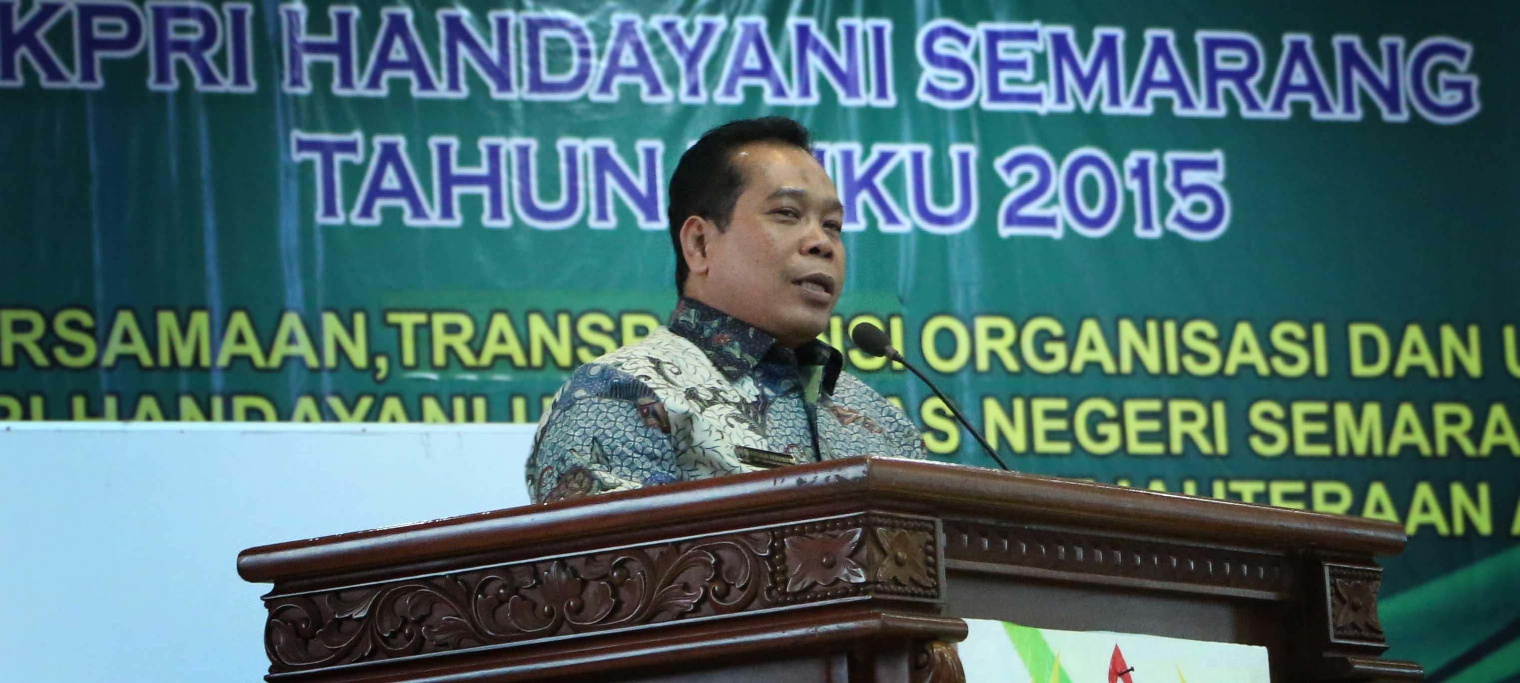 Rektor Unnes Apresiasi Keberhasilan KPRI Handayani