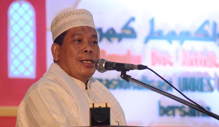 Awal Ramadan Rektor Imbau, Keluarga Besar UNNES untuk Saling Menjaga Toleransi