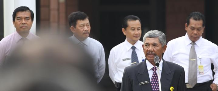 Rektor: Tampilkan Gerbang Universitas di Setiap Paparan