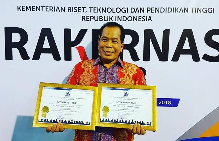 Web UNNES Terbaik ke-3 PTN BLU/Satker se-Indonesia