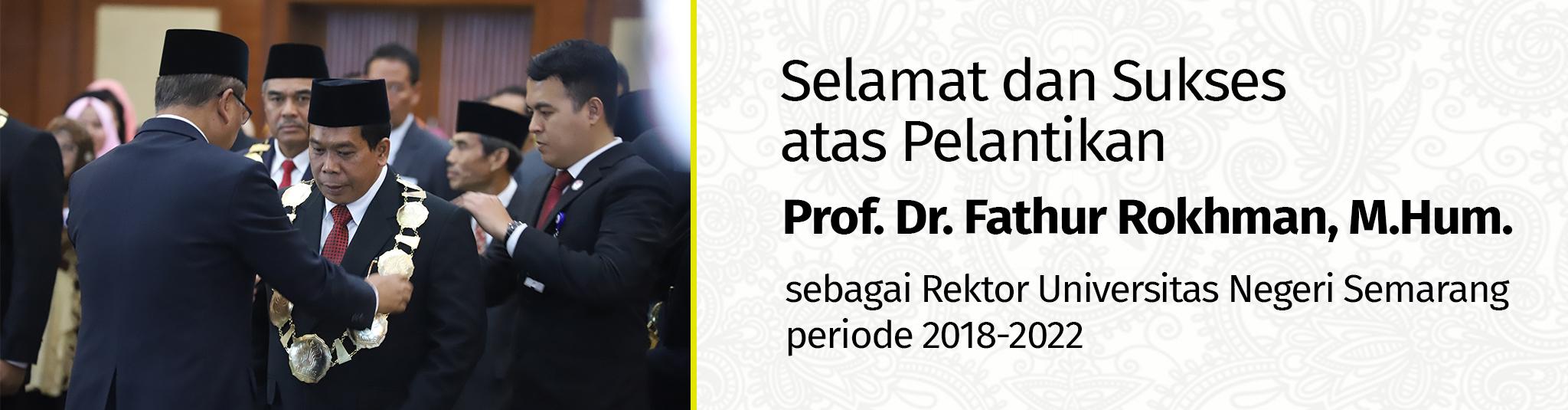 Pelantikan Rektor