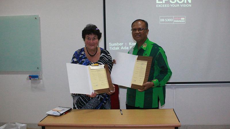 Tingkatkan Reputasi, Jurusan Bahasa Inggris UNNES Inisiasi Kerjasama dengan University of Southern Queensland