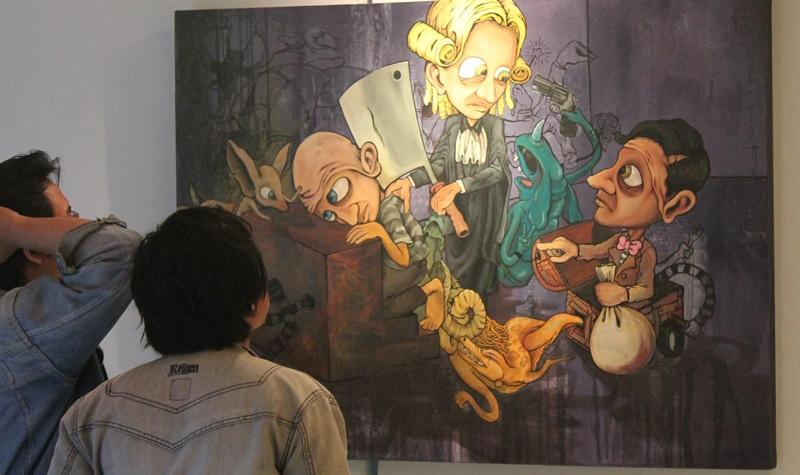 Fenomena Korupsi Dalam Seni Lukis
