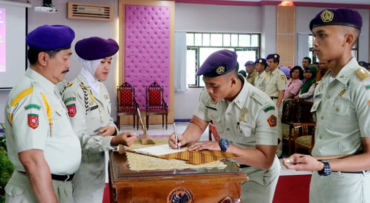 Alfian Nur Rohman Komandan Menwa UNNES