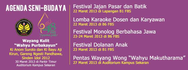 Besok, Festival Jajan Pasar dan Batik di FBS