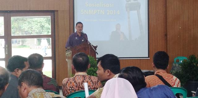 Unnes Sosialisasikan SNMPTN  di Pekalongan