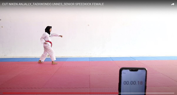 Tim Taekwondo UNNES Sabet 4 Medali di Ajang Indonesia International BIHO PRESIDENT CUP 2021