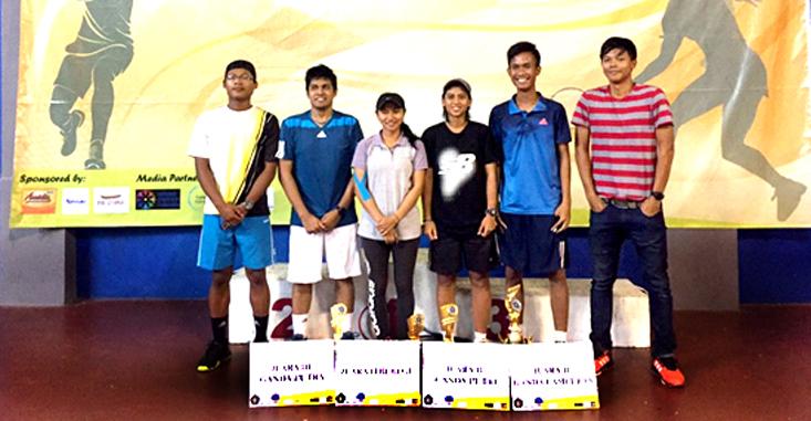 Tim UKM Tenis UNNES Raih 3 Perak 1 Perunggu Pada Brawijaya National Tennis Tournament