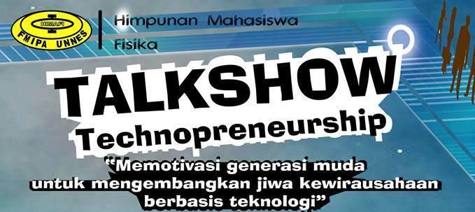 Ikuti Talkshow Technopreneurship