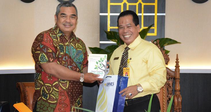 Rektor Unmul: UNNES Inspiratif dan Banyak Prestasi