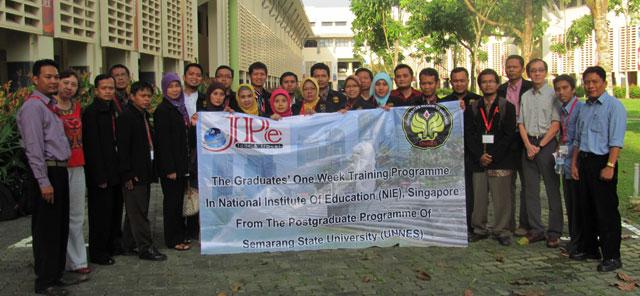 Mahasiswa PPs Unnes Observasi  di North Vista Singapura