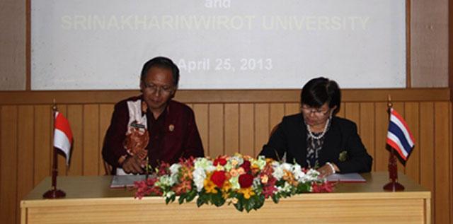 Unnes-Srinakharinwirot University Thailand Jalin Kerja Sama
