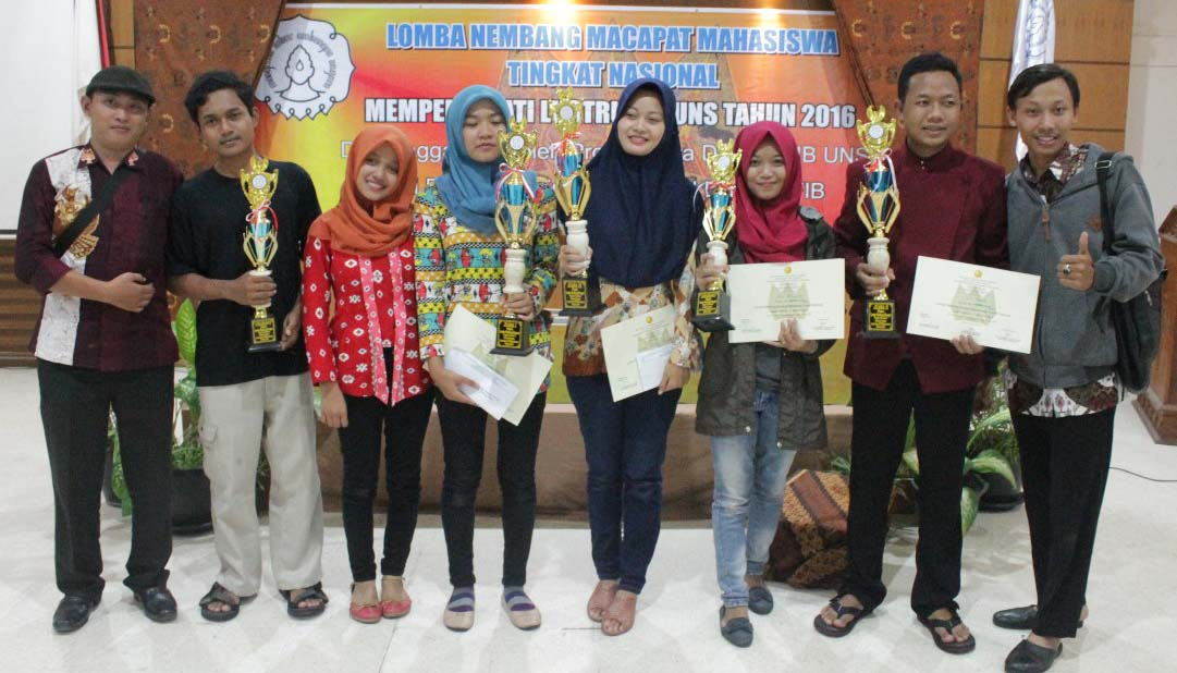 Lomba Macapat Tingkat Nasional, UNNES Borong Juara