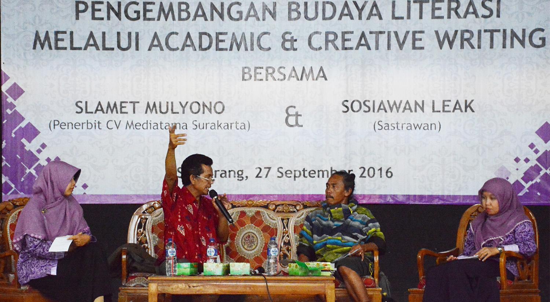 Pengembangan Budaya Literasi