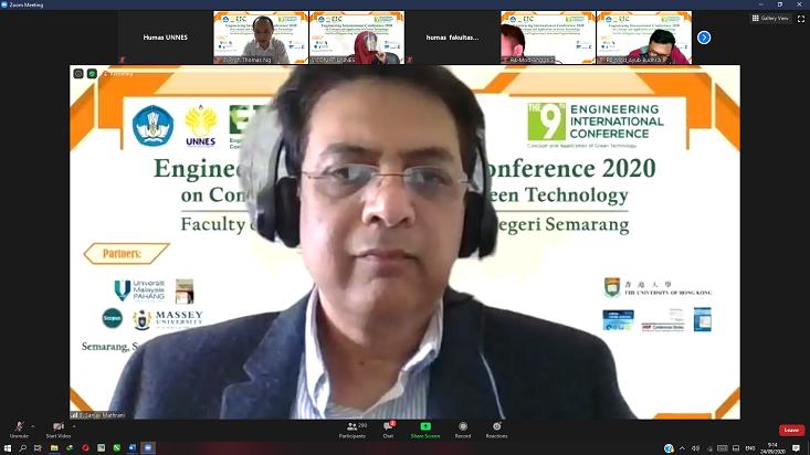 Fakultas Teknik UNNES Kembali Selenggarakan Engineering International Conference