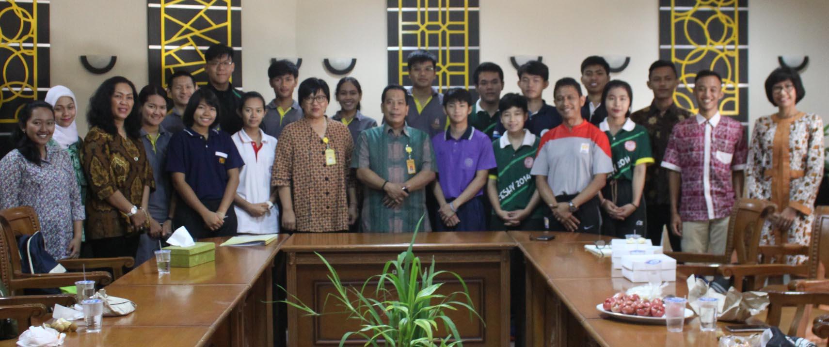 Mahasiswa Thailand Ikuti Sports Students Exchange di UNNES